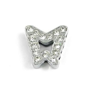 Slider charm - Butterfly 10mm