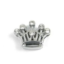 Slider charm - Crown 10mm