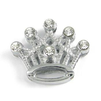 Slider charm - Crown 18mm