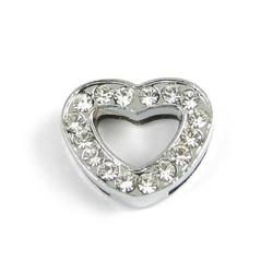 Slider charm - Heart 12mm