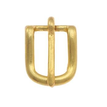Solid Brass Bridle buckle