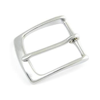 Solid Brass belt buckle, chromed