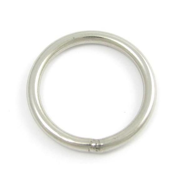 Stainless steel argon welded o ring pethardware