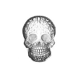 Sugar skull Leather stamps 3-D