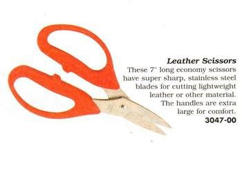Leather Scissors