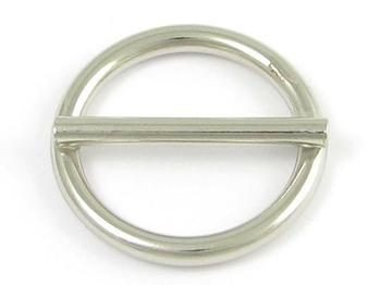 Welded round ring with center bar